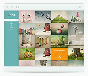 Origin WordPress Theme.