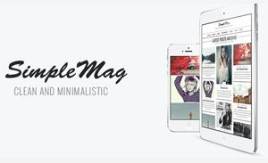 Simplemag WordPress teme Magazine