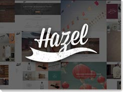 plantillas para wordpress hazel