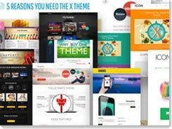 wordpress themes x